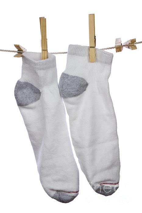 Socks Print by Blink Images