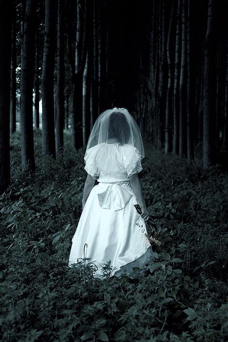 The Bride Print by Joana Kruse