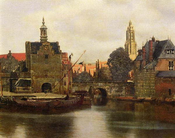 View Of Delft Print by Jan Vermeer