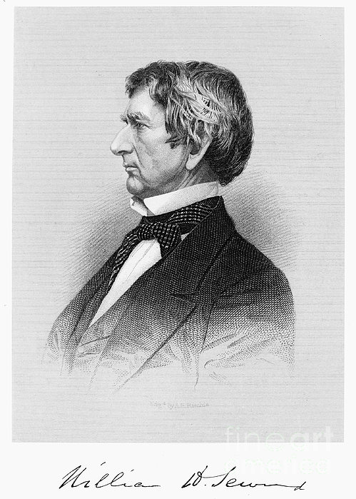 William Seward (1801-1872) Print by Granger