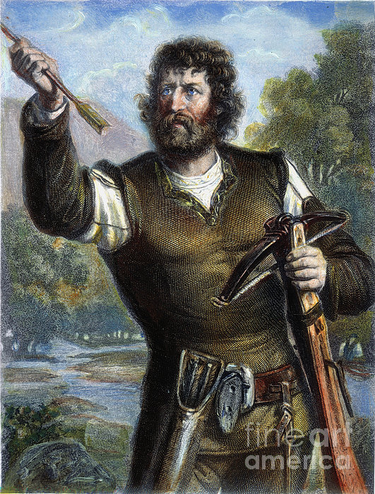 William Tell Print by Granger