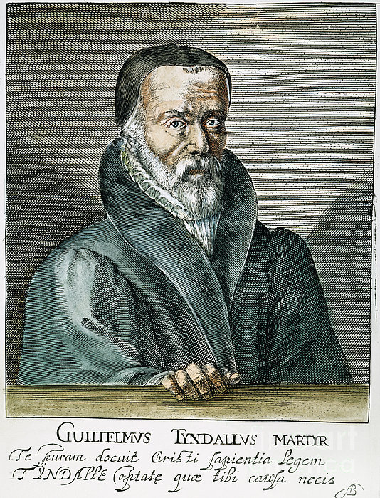William Tyndale (1492?-1536) Print by Granger