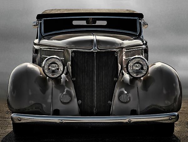 '36 Ford Convertible Coupe Print by Douglas Pittman