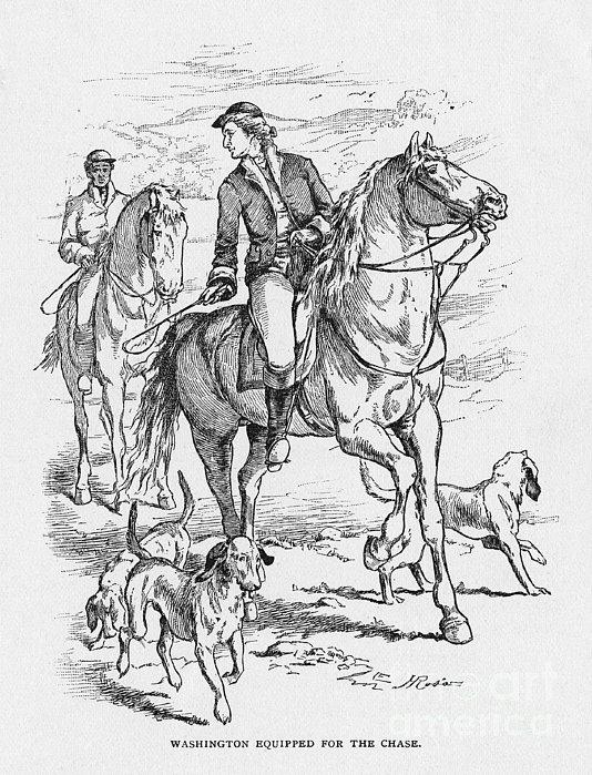 George Washington Print by Granger