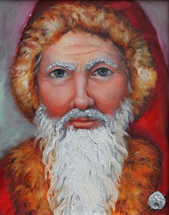 3D Santa Painting