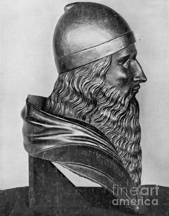 Aristotle, Ancient Greek Philosopher Print by Science Source