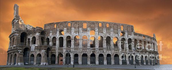 Colosseum. Rome Print by Bernard Jaubert
