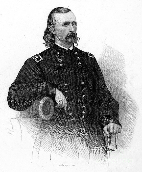 George Custer (1839-1876) Print by Granger