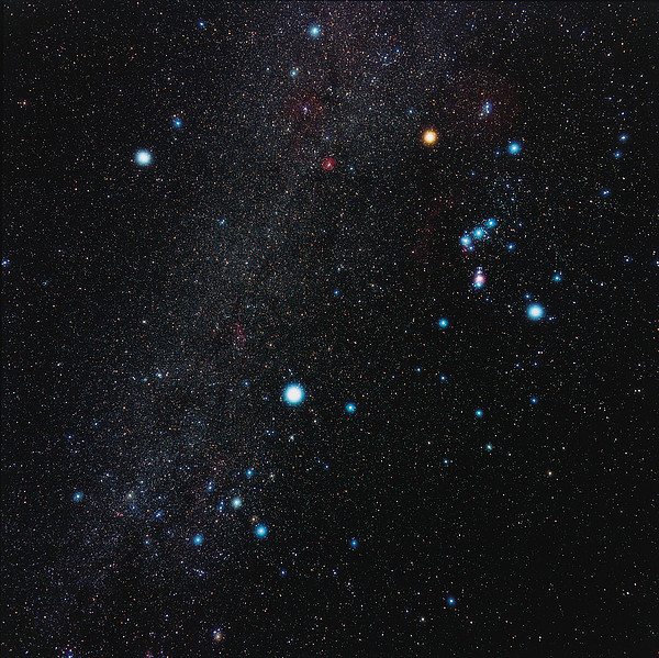 Orion Constellation Print by Eckhard Slawik