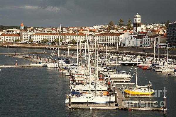 Ponta Delgada Print by Gaspar Avila