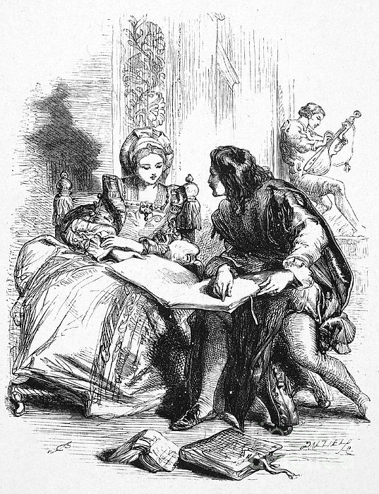 Taming Of The Shrew Print by Granger