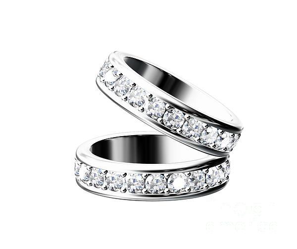 The Beauty Wedding Ring Print by Rattanapon Muanpimthong