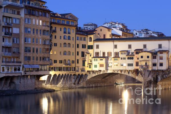 Vecchio Bridge Print by Andre Goncalves