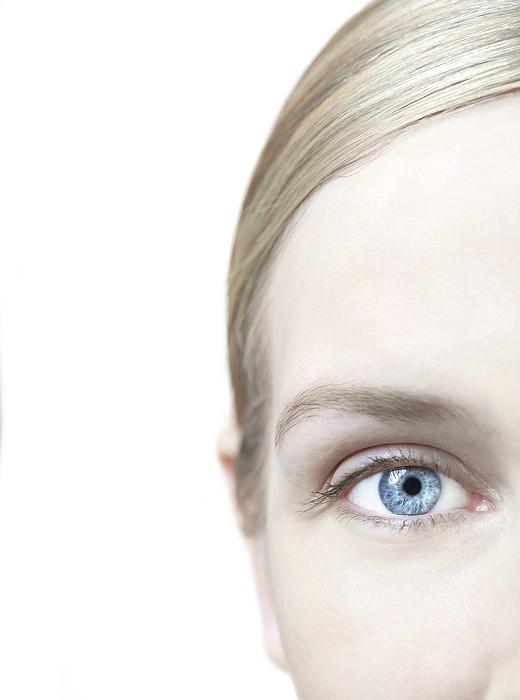 Woman's Eye Print by