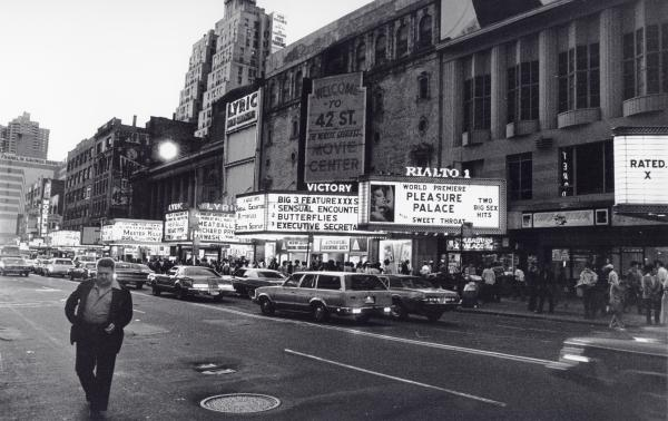 42nd Street Nyc 1982 Photograph  - 42nd Street Nyc 1982 Fine Art Print