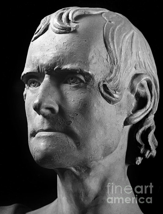 Thomas Jefferson (1743-1826) Print by Granger