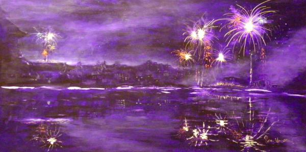 4rh Of July Celebration Print by Terry Honstead