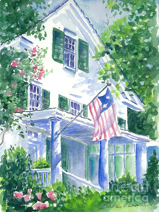 4th Of July In Georgia Print by Bambi Rogers