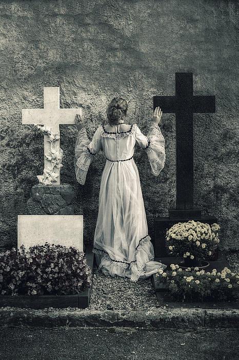 Angel Print by Joana Kruse