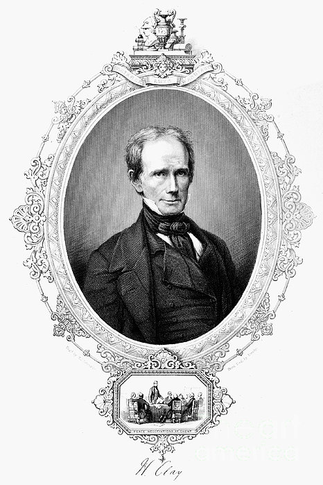Henry Clay (1777-1852) Print by Granger