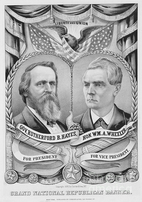 Presidential Campaign, 1876 Print by Granger