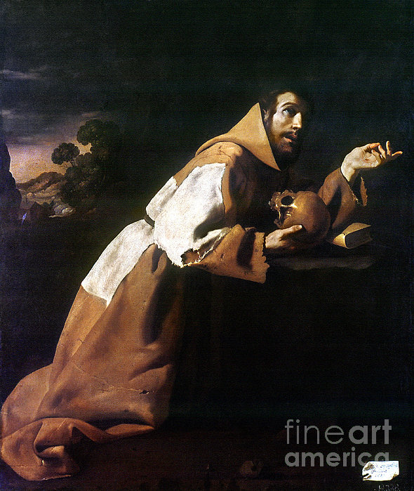 St. Francis Of Assisi Print by Granger
