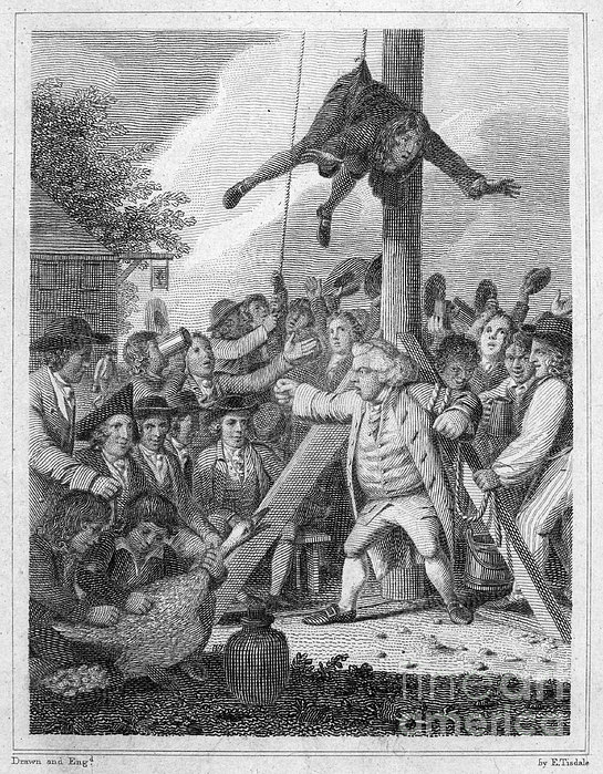 Stamp act 1765 print by granger