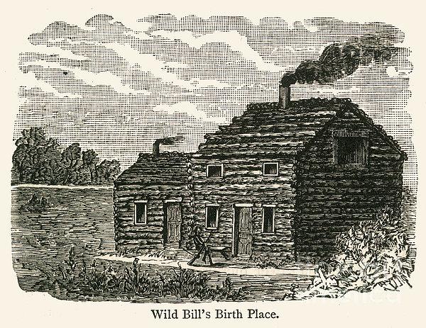 Wild Bill Hickok (1837-1876) Print by Granger