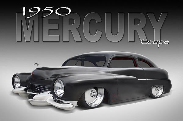 50 Mercury Coupe Print by Mike McGlothlen