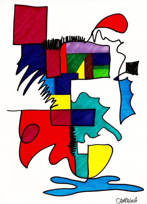 Untitled Print by Teddy Campagna