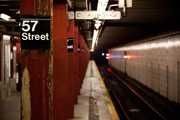 57th Street Station Print by Steven Gray