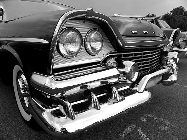 Sarah Egan - 58 Plymouth Fury Black and White