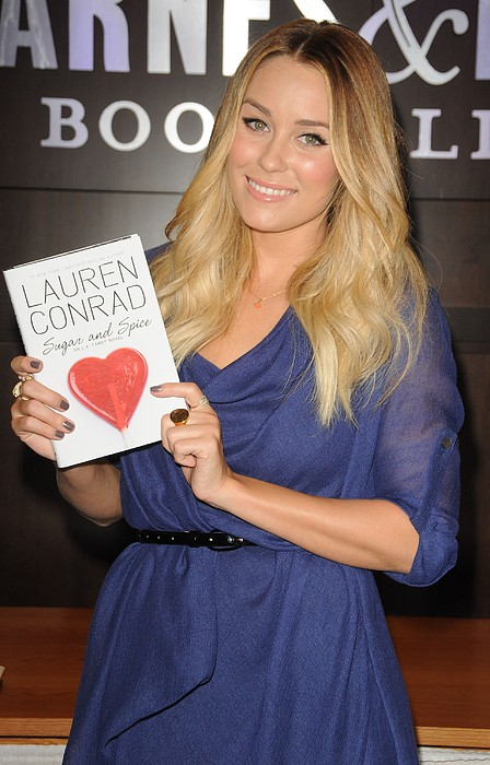 Lauren Conrad At In-store Appearance Print by Everett