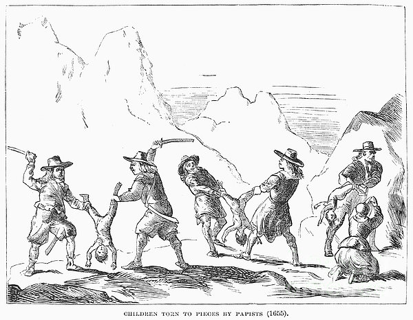 Persecution Of Waldenses Print by Granger