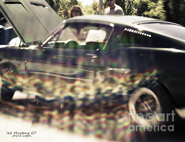 '68 Ford Mustang Gt Print by Jayne Logan Intveld