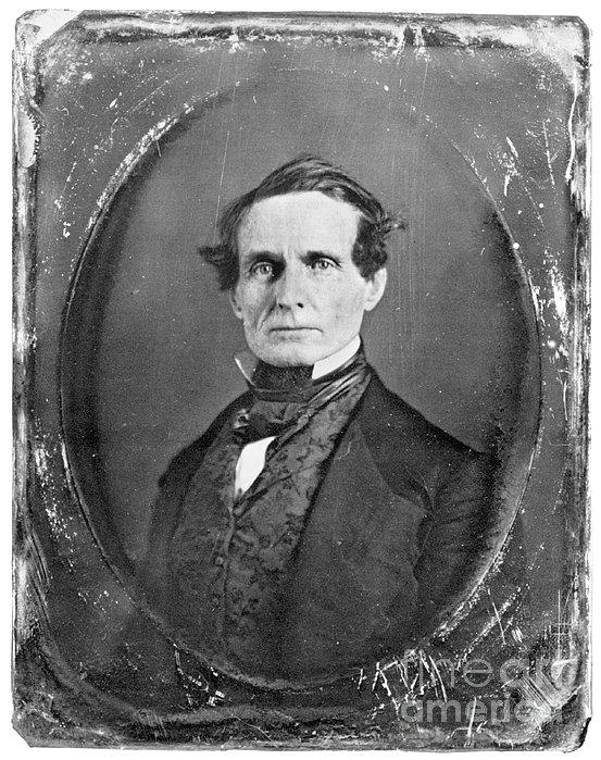 Jefferson Davis Print by Granger