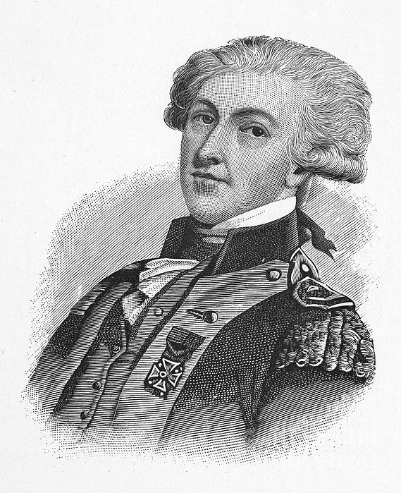 Marquis De Lafayette Print by Granger