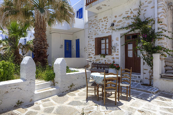 Paros - Cyclades - Greece Print by Joana Kruse