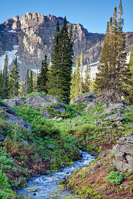Wasatch Mountains Utah Print by Utah Images