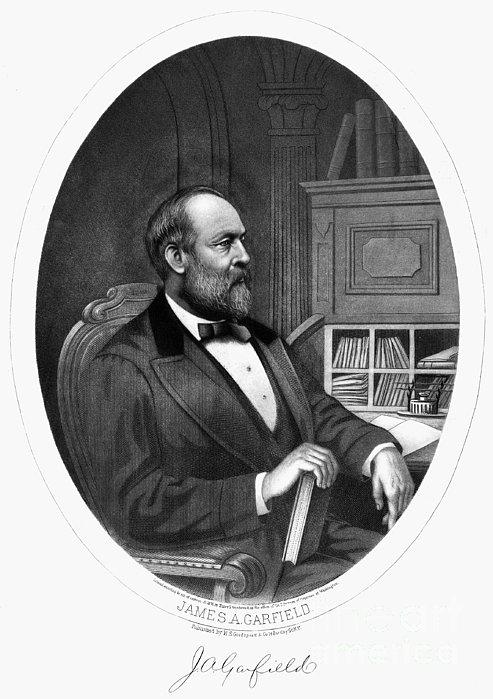 James A. Garfield (1831-1881) Print by Granger