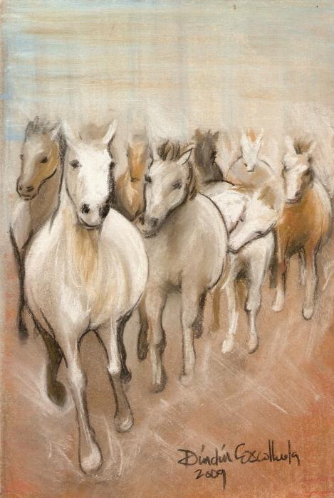Dindin Coscolluela - 8 Running Horses