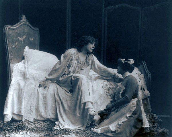 Sarah Bernhardt 1844-1923, French Print by Everett