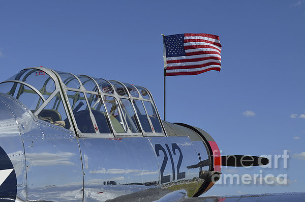 A Bt-13 Valiant Trainer Aircraft Print by Stocktrek Images
