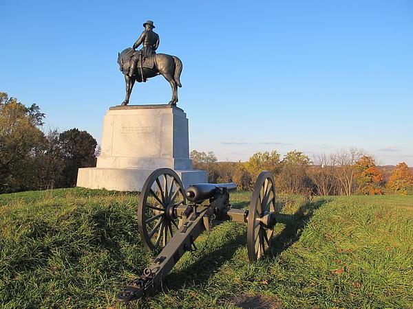 Gettysburg Three Days Battle   Print by Valia Bradshaw