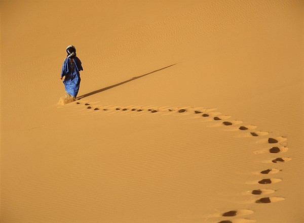 Merzouga, Morocco Print by Axiom Photographic