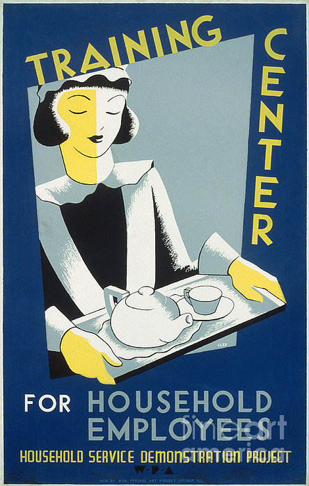 New Deal: Wpa Poster Print by Granger