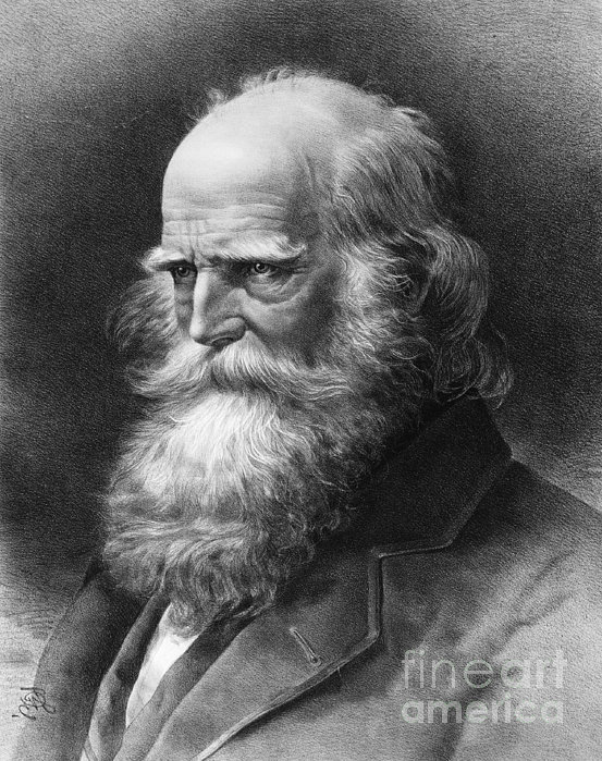 William Cullen Bryant Print by Granger