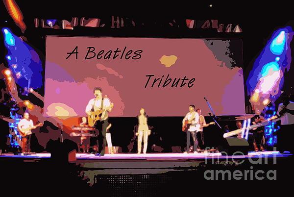 A Beatles Tribute Print by Renee Trenholm