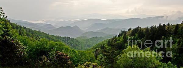 Bob and Nancy Kendrick - A Beautiful View Panorama