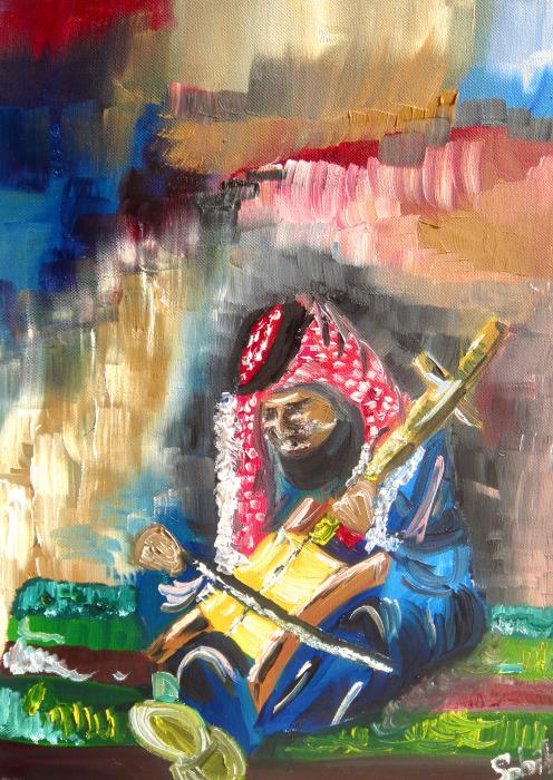 A Bedouin Life Print by Sabrina Phillips